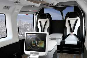 The EC145 Mercedes-Benz Helicopter Epitomizes Style in the Sky