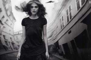 Model Elisa Sednaoui in Vogue Italia Suggestions