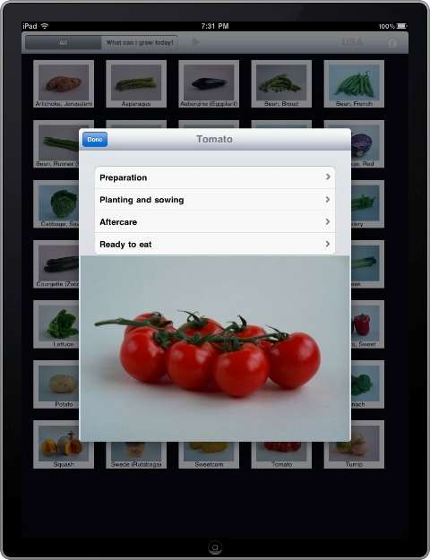 Green Thumb iPad Apps