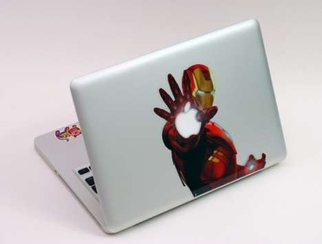 SkinAt designs custom laptop and iPad  skins
