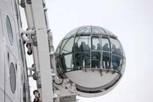 The Ericsson Globe SkyView is Essentially a Giant Ferris Wheel