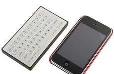 Itty-Bitty iPad Keyboards - The Brando Slim Bluetooth Keyboard is the Size of an iPhone