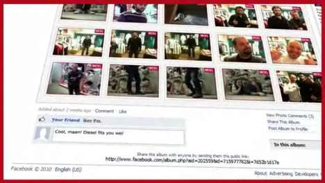 Social Shopper Cams - The Diesel Facebook Cam is for the Networking Shopaholic