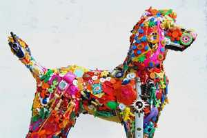 Robert Bradford Transforms Children's Toys into Life-Sized Dogs