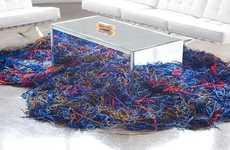 Cosmic Spaghetti Carpets