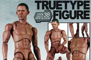 African-American Advanced TTM-15 Action Figure Looks Just Like the Prez