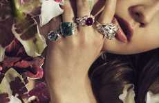 Collage-Inspired Jewelry Campaigns