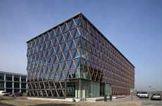 Gridded Glass Structures
