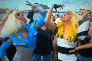 Check Out the Fabulous Sydney Harbor Dance-Off Flash Mob