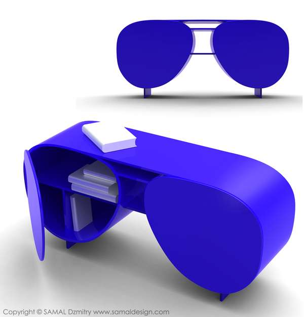 Sunglasses Library Shelf 3