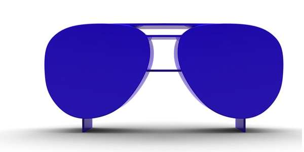 Sunglasses Library Shelf 5