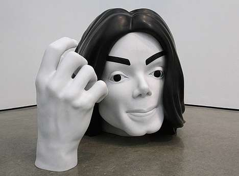 Plastic Surgery Sculptures - The Marc Quinn Exhibition Takes Art to Insane Measures