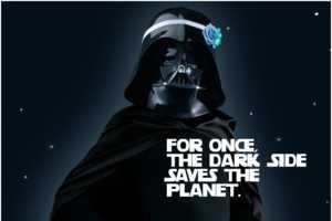 Darth Vader in a Sid-Splitting Earth Hour Ad