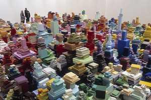 Jacob Dahlgren Builds an Overwhelming City Installation With Tiles