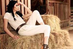 Feminine Magazine May 2010 Puts Model Angie Ng on a Farm