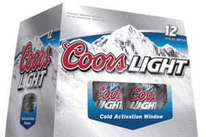Coors Light Cold-Activated Window Turns Clear When It's Beer O'Clock