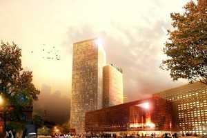 'Counterpart' by Schmidt Hammer Lass Also Has Concert Hall & Shopping Mall