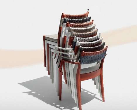 Sleek Stackable Chairs -