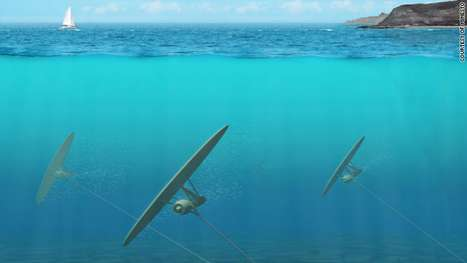 Deep Green Tidal Turbines