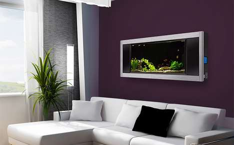 Aquavista Panoramic Wall Aquarium