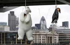 Hanging Stuffed Animals