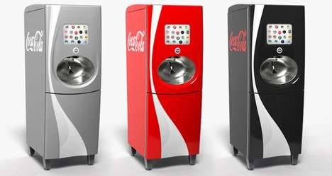 Coke Freestyle machine