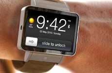 iPhone-Like Watches - ADR Studio Releases the iWatch Concept Design
