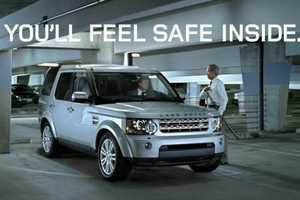 The Land Rover LR4 Sword Ads Show an Unconventional Danger