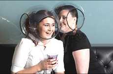 Speech Bubble Helmets