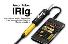 Mobile Effects Rigs - The AmpliTube iRig iPhone App Lets You Rock Out Like a Pro