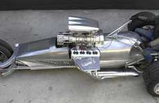 DIY Supertrikes - Tim Cotterill's Self-Made Road Rocket Rides Like a Rocket