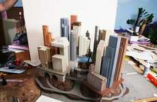 Miniature City Exhibits - Murphy and Dine Gallery Features 'Small Is Beautiful' Exhibit