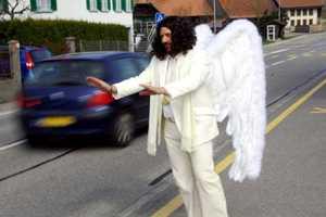 The Switzerland Police Road Angel Creates a Divine Speeding Intervention