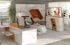 Pop-Up Furniture Condos - Boxetti Provides Chic and Cluster-Free Storage Solutions