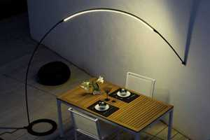 The Vibia 'Halley' Light Brightens Up a Romantic Evening