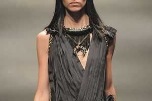 Lanvin FW10 Collection Features Heavily Embellished Neck Pieces