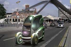'Cell' Eco Car by Tom Kent Can Lane-Split in Traffic Like a Motorcycle