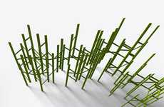 Stick-Like Room Dividers - These SWARM for Council Room Dividers are Frenzied Fun