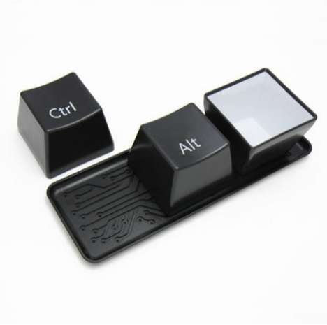 Ctrl Alt Del Keyboard Keys Cup Set