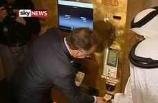 ATMs for Gold - The Emirates Palace Hotel Has a Gold-Giving ATM