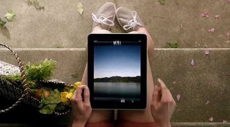 What is iPad commercial