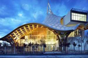 The Centre Pompidou-Metz Museum Has an Unusual Timber Roof