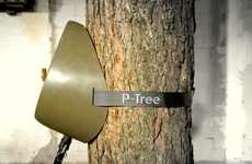 The 'P-Tree' by Sam van Veluw Makes Public Peeing Hygienic