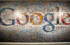 Mosaic Webvertising - The Google Team Advertises with 884 4x6 Photographs