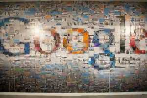 The Google Team Advertises with 884 4x6 Photographs