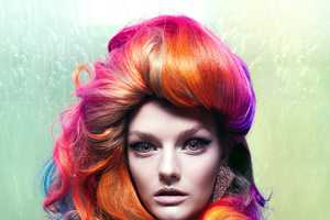 Technicolor Hairstylings in Vixen Magazine Spring 2010