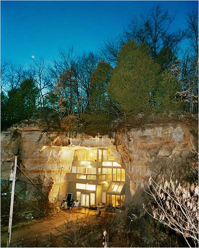 Sleeper Family Sandstone Cave Home