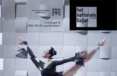 Woven Dance Posters - The Dutch National Ballet 'Theme Variations' Campaign