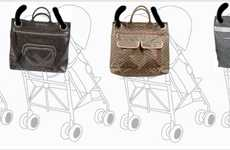 Terrific Mommy Totes - The Magic Stroller Bag Attaches to Your Baby's Stroller