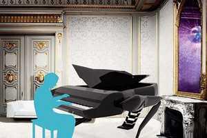 The Transformer Grand Piano is a Dual-Purpose Design